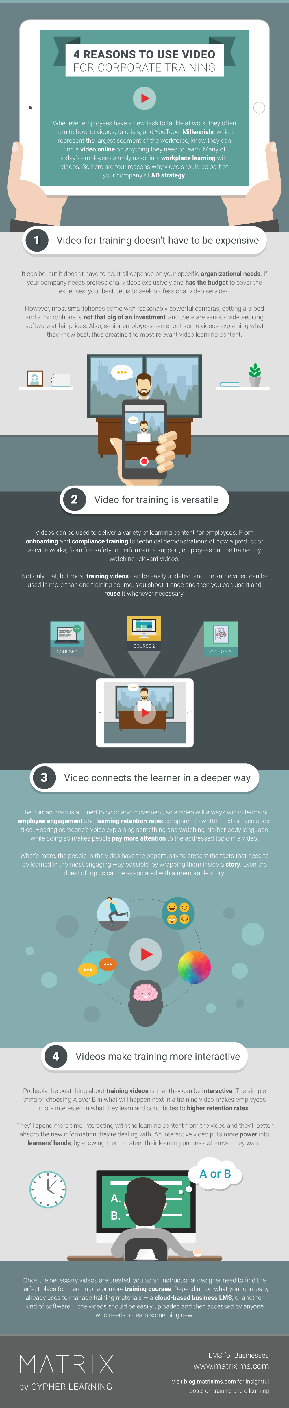 4 Reasons to Use Video for Corporate Training